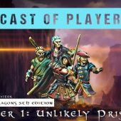 Dungeons & Dragons Cast of Players: The Chronicles of Valtor Chapter 1 – Unlikely Prisoners